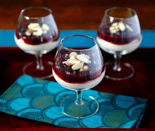 Cherry Cheesecake Shooters Learn To Make Easy Tasty Cheesecake Desserts With Cherries Almonds