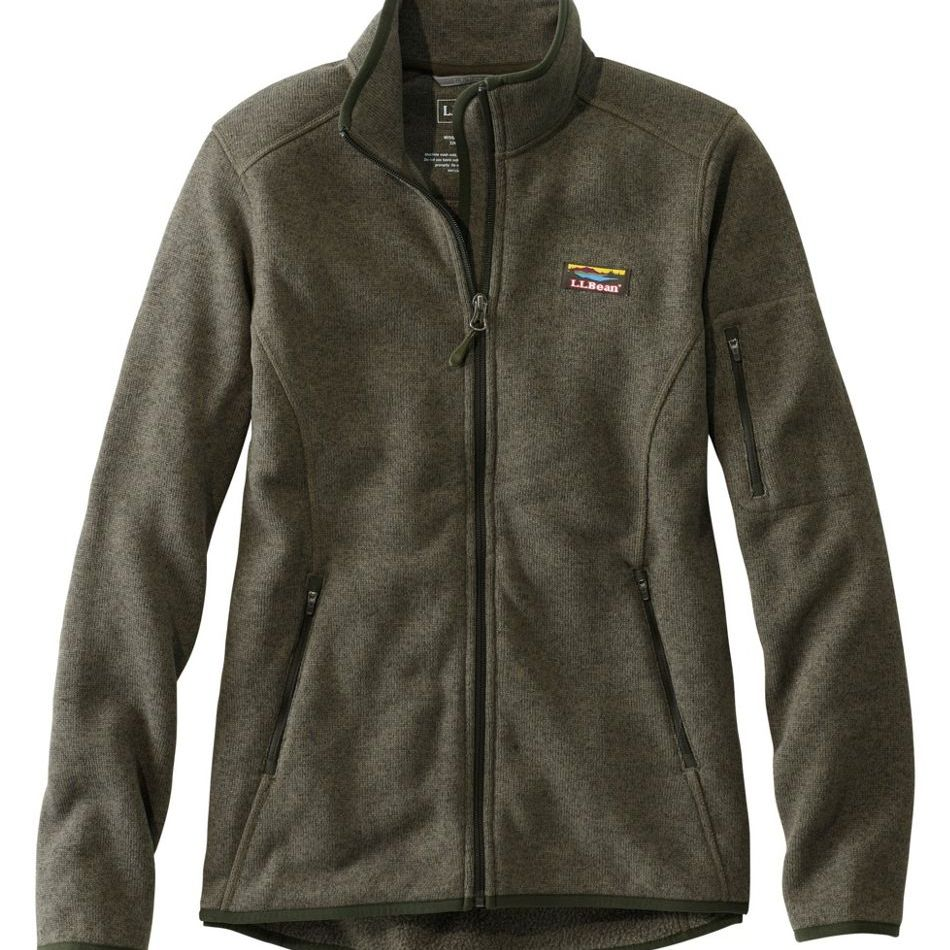 Women's Sweater Fleece Full-Zip Jacket
