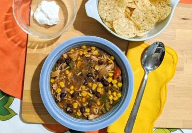 Recipe: Slow Cooker Chicken Enchilada Soup