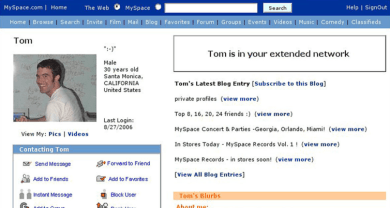toms-myspace-profile