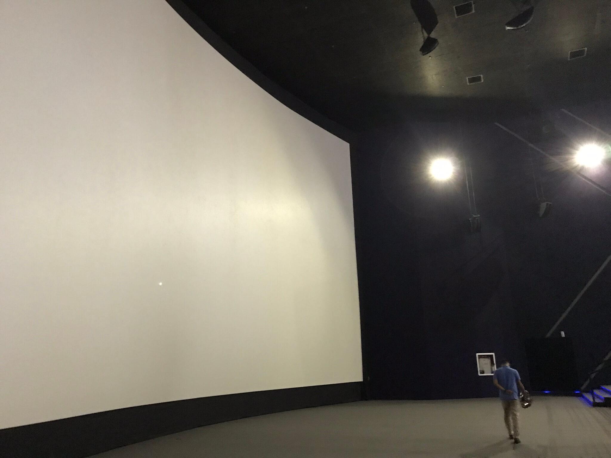 SMシネマのスクリーン