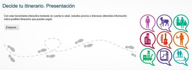 ITINERARIO PROFESIONAL