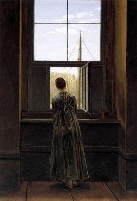 406px-Caspar_David_Friedrich_-_Woman_at_a_Window_-_WGA8268