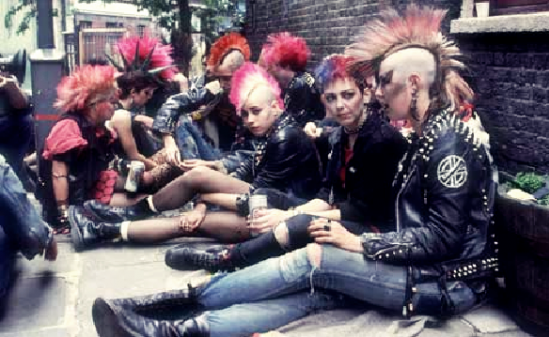 Example of a punk subculture group wearing Dr. Martens. http://static1.squarespace.com/static/5153474ce4b02d3f1d599003/51a69d81e4b0434836e2979d/51a69d9be4b0c90f31e24187/1369873831031/DM+punks.png?format=750w