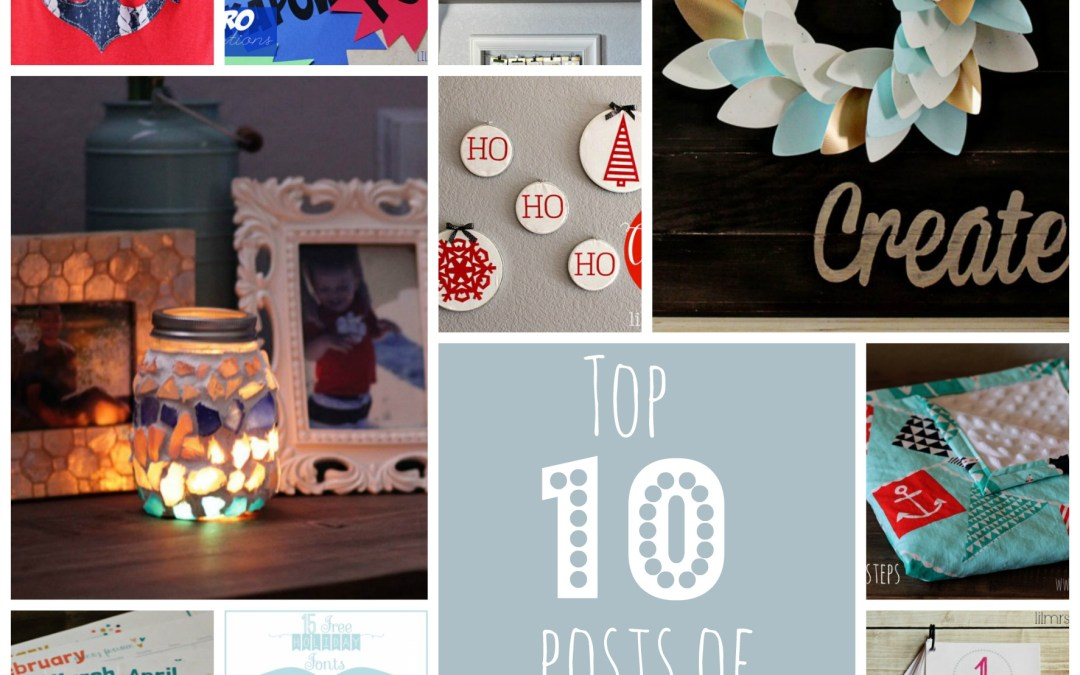 Top Ten Posts of 2013 and a Look Back