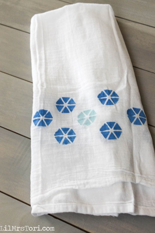 Hexagon Kitchen Towel