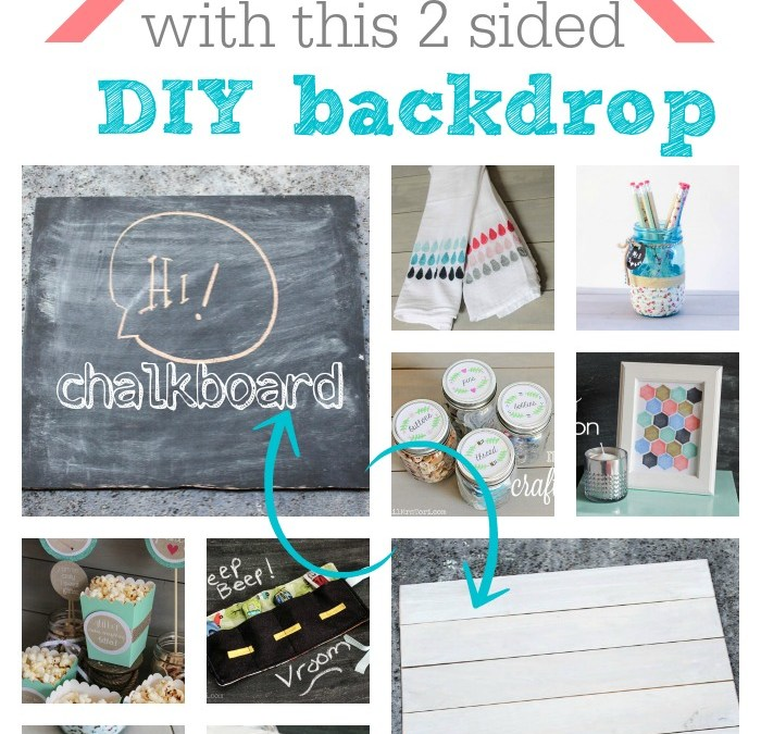 Double Sided Backdrop that will Improve your Blog Photos!