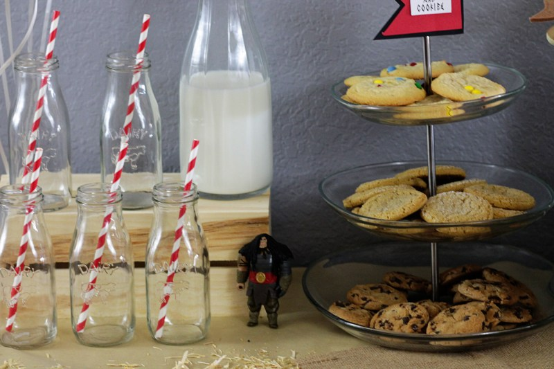 Milk and Cookies Dragon Party