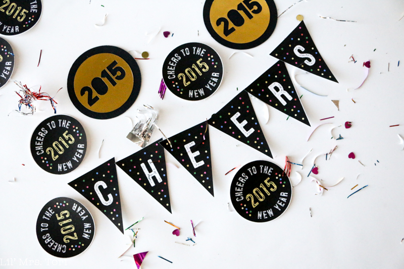 Printable New Year Decorations