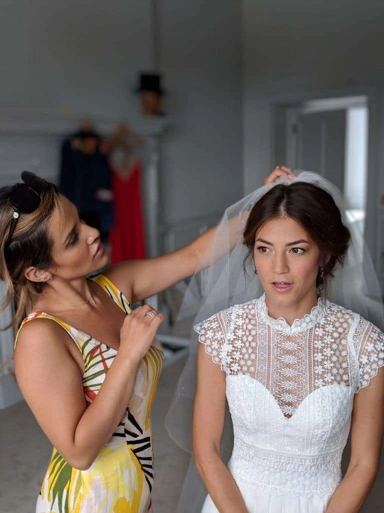west sussex - bridal hair and makeup for west sussex wedding