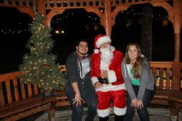 Jori (Josh + Tori) and Santa