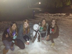 Let it Snow with the roommates.