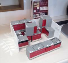 キッチンリフォーム模型