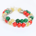 red-green-layered-bracelet
