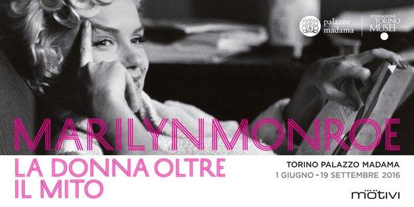 トリノ|イベント情報「マリリン•モンロー展」マダマ宮殿