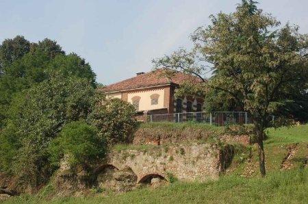 resti del castello di Mirafiori