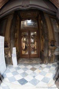 Torino, la cupola restaurata della Chiesa della Trinità.-6692