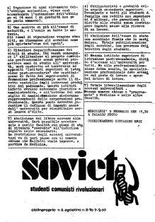 1 - Soviet-studenti comunisti rivoluzionari - volta