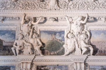 Torino, Interni del Castello del Valentino-5378