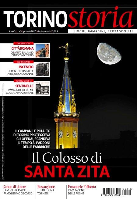 Copertina Torino Storia n. 45, gennaio 2020