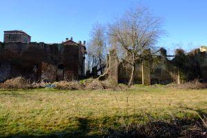 Castello della Rotta, veduta posteriore