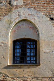 Castello della Rotta - particolare di finestra, 1