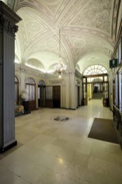 L'ingresso del Real Collegio Carlo Alberto