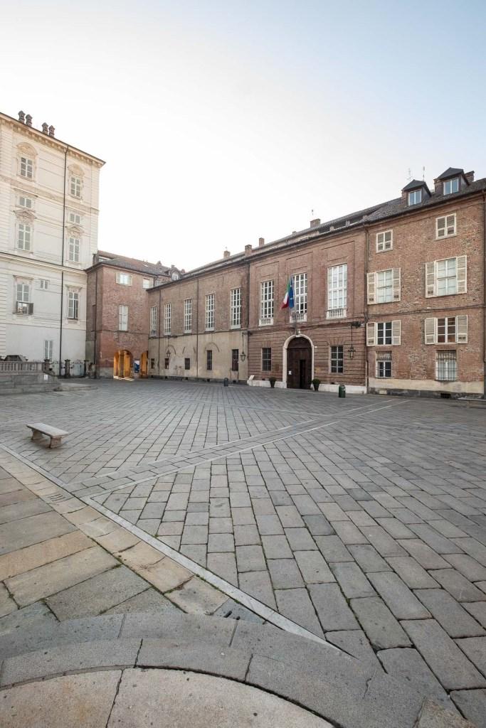 Palazzo Chiablese, facciata