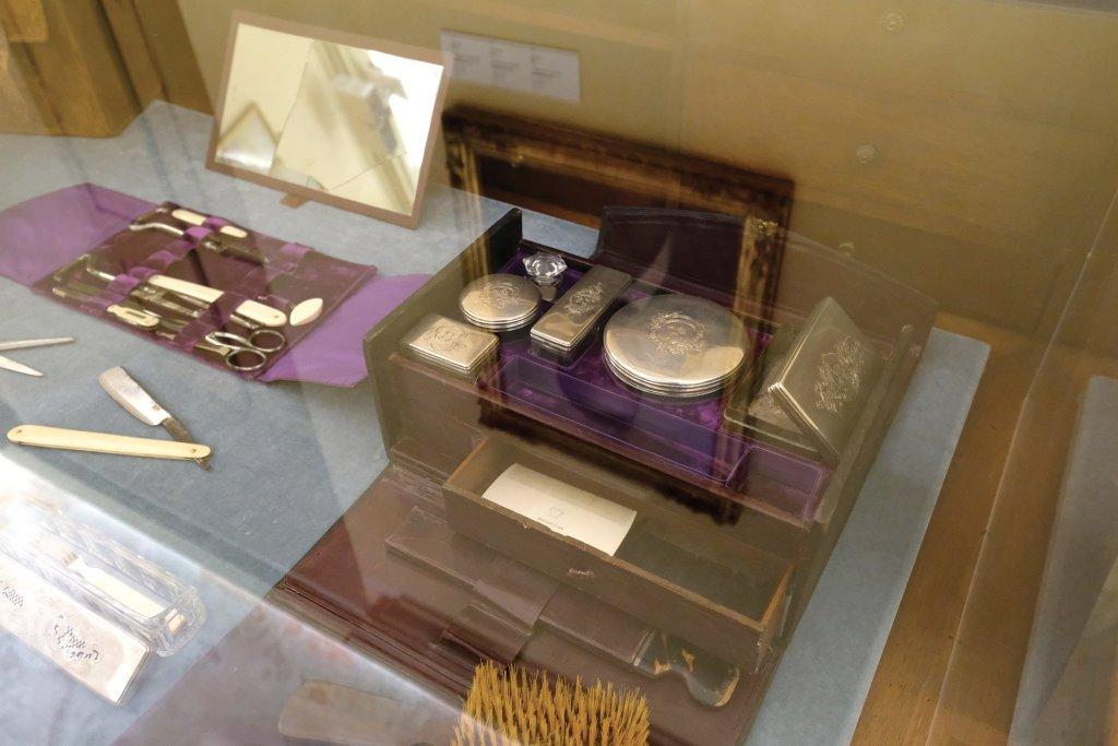 Memoriale Cavour, oggetti personali del conte