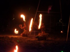 The Beach Bar Fire Dance