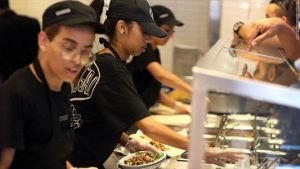 Chipotle workers sue