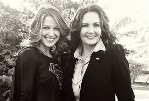SuperGil and Lynda carter