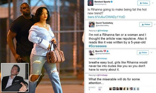 Rihanna body shamed by sportcaster