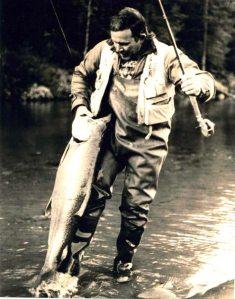 Bob Nauheim catching fish