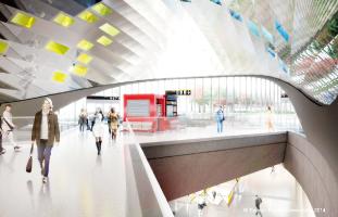 Vaughan Metropolitan Centre駅構内(イメージ)