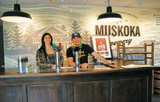 オンタリオの有名地ビール Muskoka Brewery