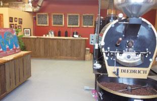Muskoka Roasteryで新鮮なコーヒーを