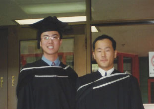 UBC卒業時