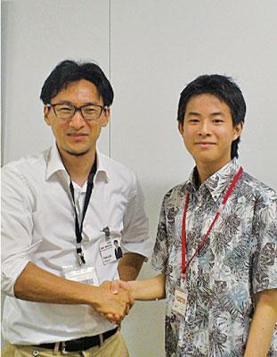 2014年7月、楽天執行役員、北川拓也博士と