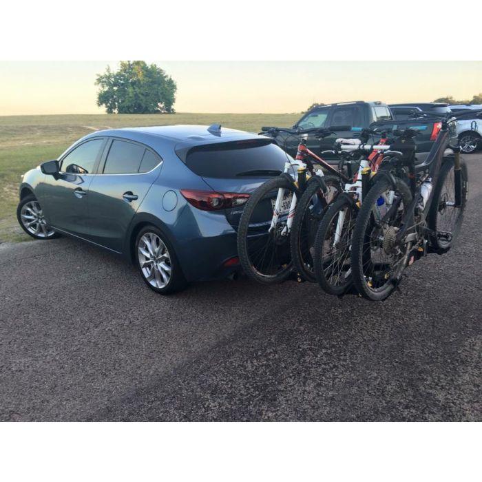 2018 mazda 3 hatchback bike rack