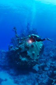 Diver and Wreck (681x1024)