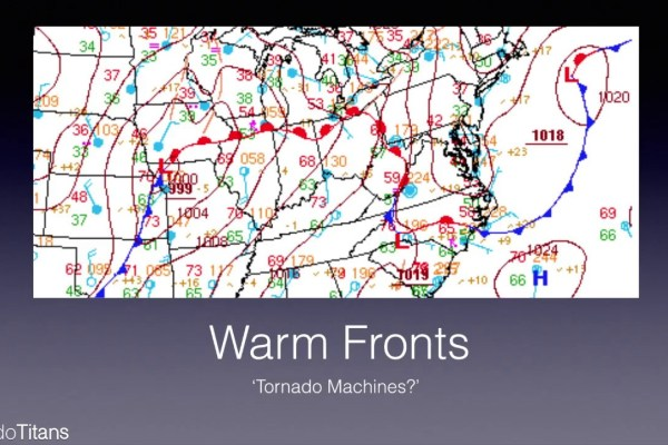 Choosing a Storm Chase Target: Warm Fronts