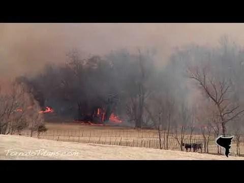 March 11, 2011 | Wicked Oklahoma Wildfire near Goldsby, OK