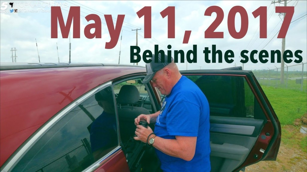 May 11, 2017 Storm Chase | Some looks behind the scenes of a storm chase  bust