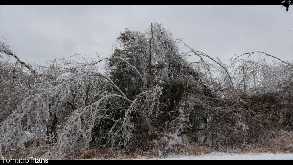 December 28, 2015 Storm Chase | Extreme Ice Storm in Central Oklahoma!