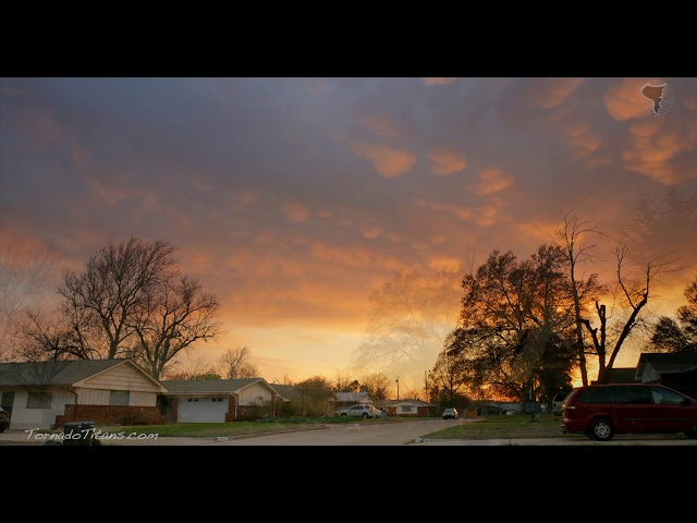 March 30, 2015 Storm Chase   Epic Bethany, OK Sunset