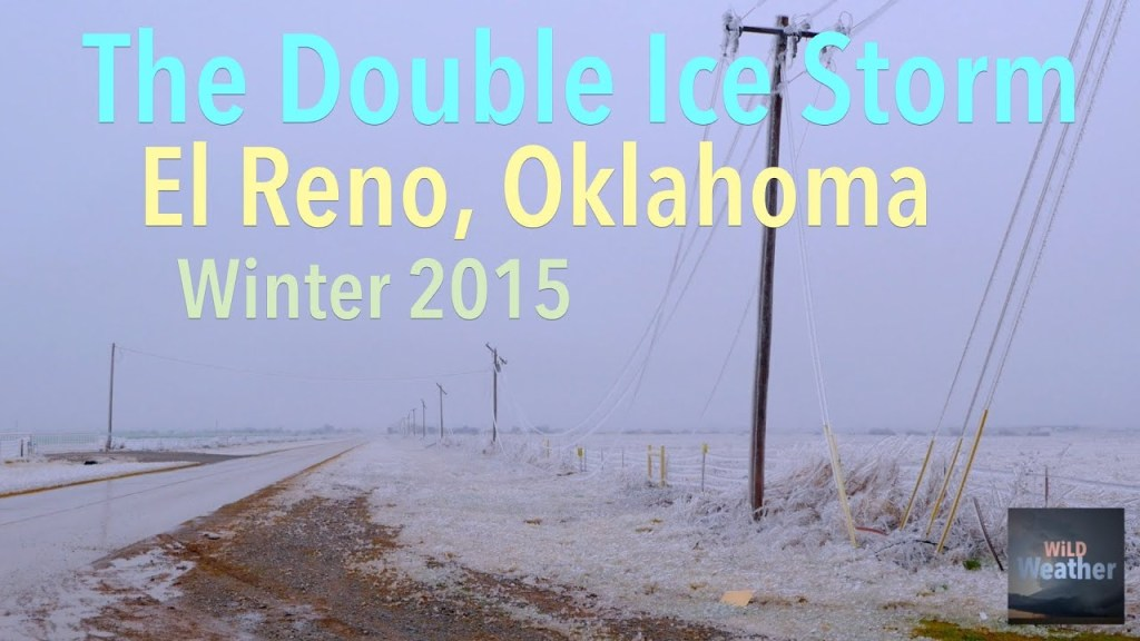 WiLD Weather: Double trouble ice storms in El Reno, Oklahoma over Thanksgiving and Christmas 2015.