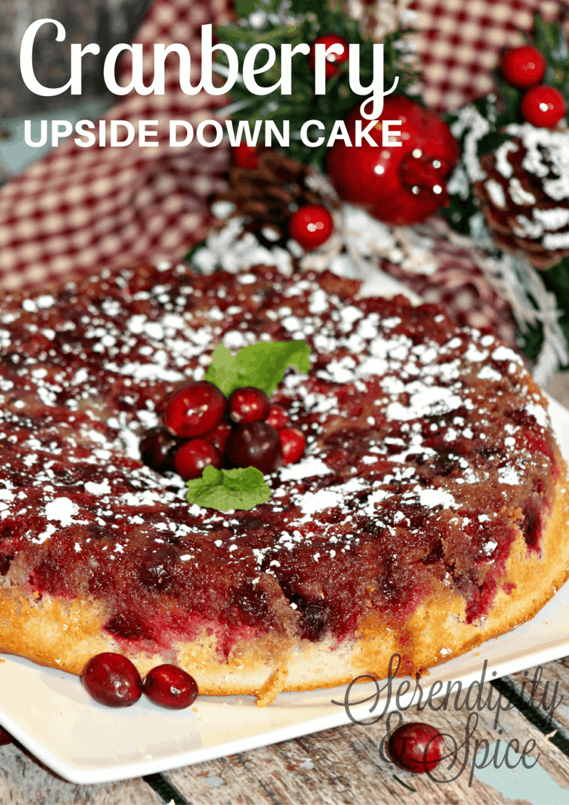 CRANBERRY-Upside-Down-Cake