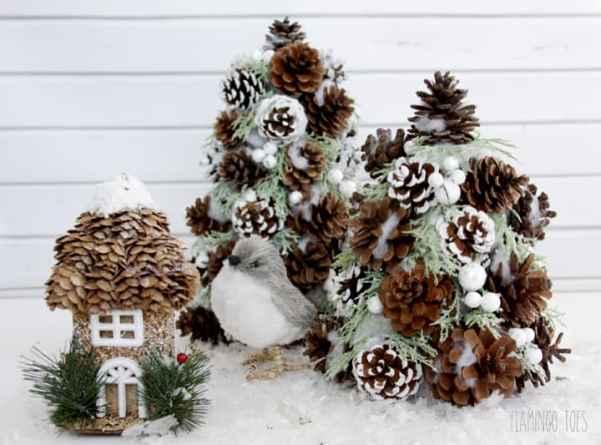 Winter-Pinecone-Trees