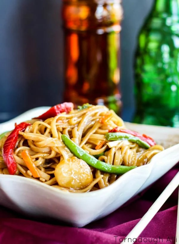 Stir Fried Mongolian Noodles